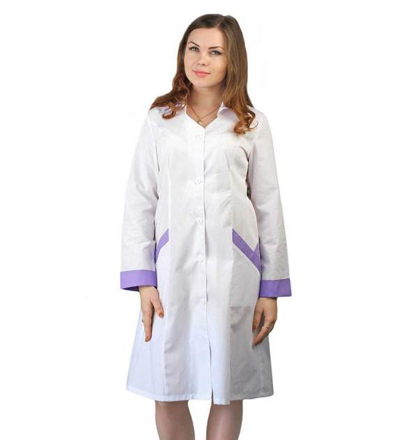 Халат медицинский женский Ursus ЯЛ-02-15 белый 48-50