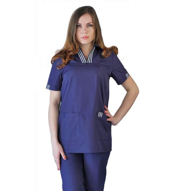 Костюм медицинский женский Ursus ЯЛ-02-11 синий 56-58
