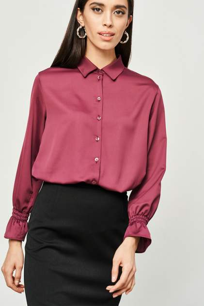 Блуза женская Vittoria Vicci 1-0-2-0-0-6548 красная L