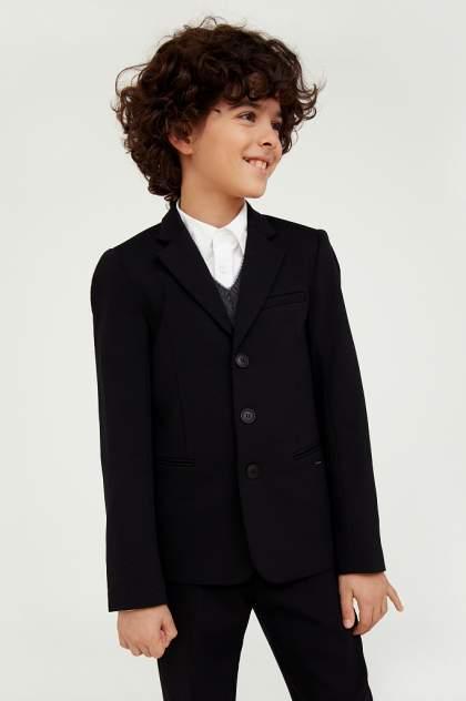 Пиджак для мальчиков Finn-Flare цв. черный р-р. 128