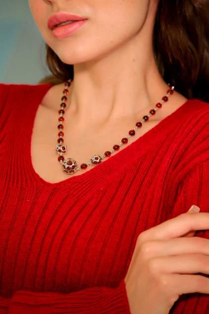 Колье женское Darvin 425041436CE из серебра, янтарь, 45 см