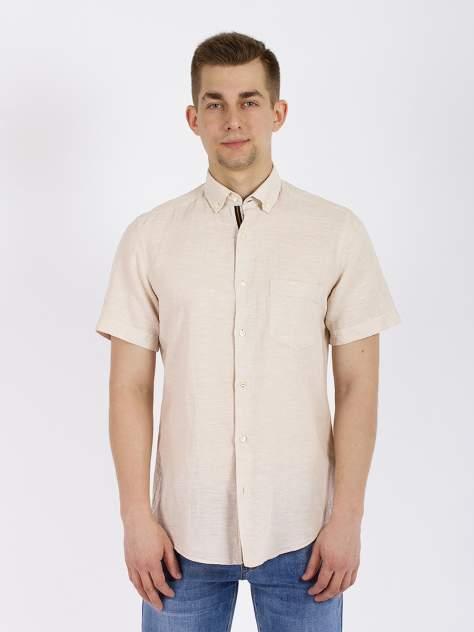 Рубашка мужская DAIROS GD81100425 бежевая M