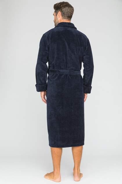 Домашний халат мужской Peche Monnaie Naturel (PM 908) синий размер XL