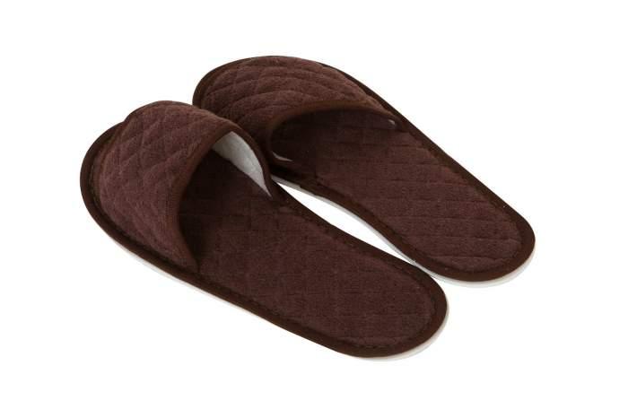 Мужские домашние тапочки Hoff 617324042-о05, коричневый