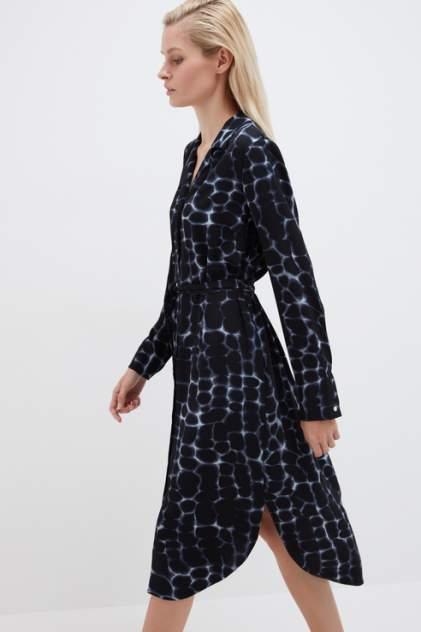 Платье-рубашка женское ZARINA 1122035535 синее 42