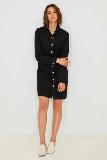 Платье-рубашка женское ZARINA 0224447547 черное 44