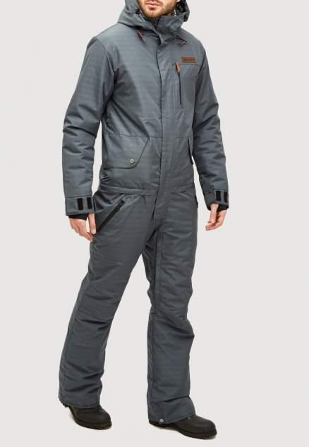 Комбинезон горнолыжный мужской 18126TC темно-серый 56