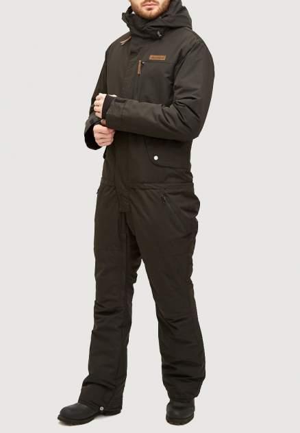Комбинезон горнолыжный мужской 18126Ch черный 56