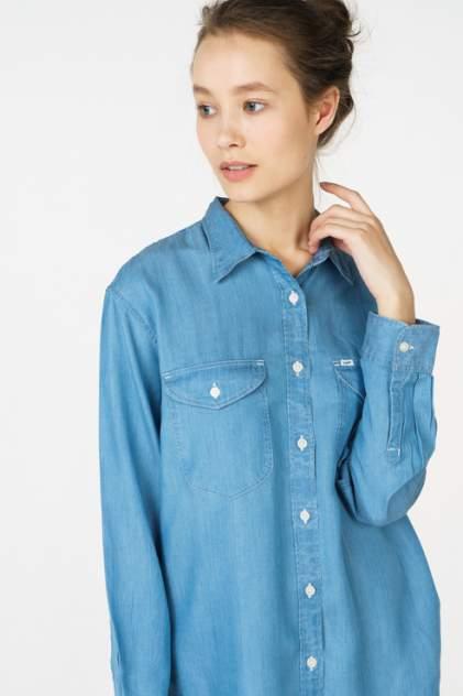 Рубашка женская Lee L45OHACO синяя 46