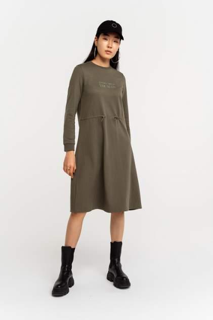 Платье женское befree 2111135521 хаки 46