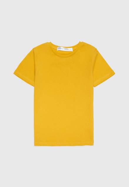Футболка детская Modis, цв.желтый