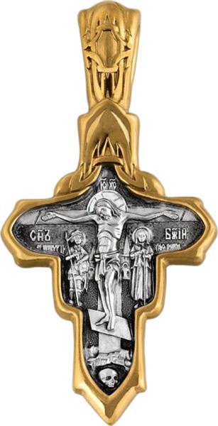 Подвеска мужская Акимов 101.079 из серебра