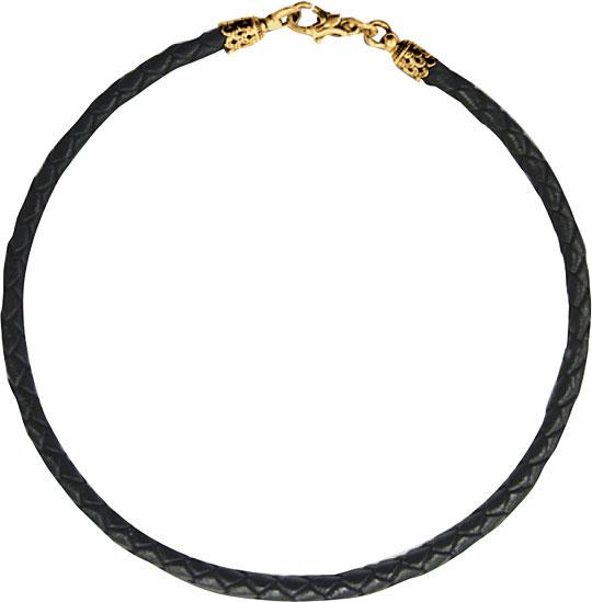 Шнурок женский Акимов 105.035-P кожаный, 65 см