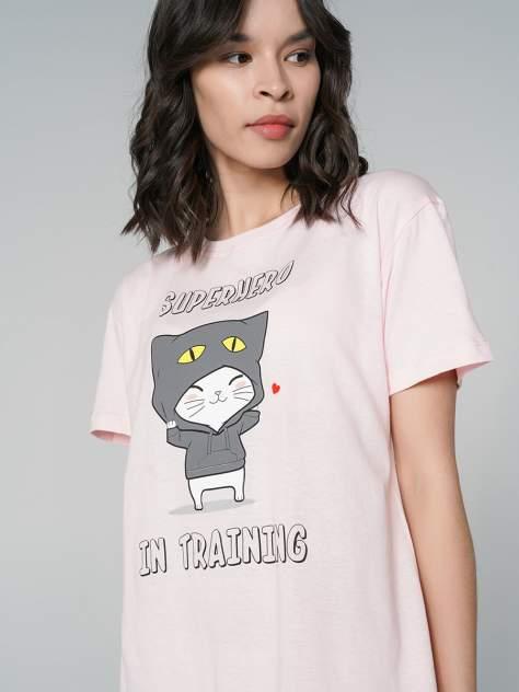 Ночная сорочка женская ТВОЕ 69733 розовая XL