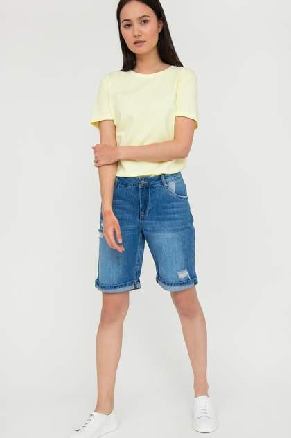 Джинсовые шорты женские Finn Flare S20-15018 синие XL