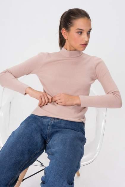 Женская водолазка Sela 08110106010 , розовый