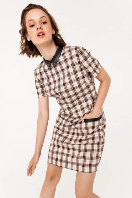 Платье-рубашка женское befree 2031502582 бежевое 48