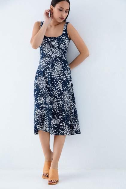 Платье-сарафан женское ZARINA 0226013513 синее 42