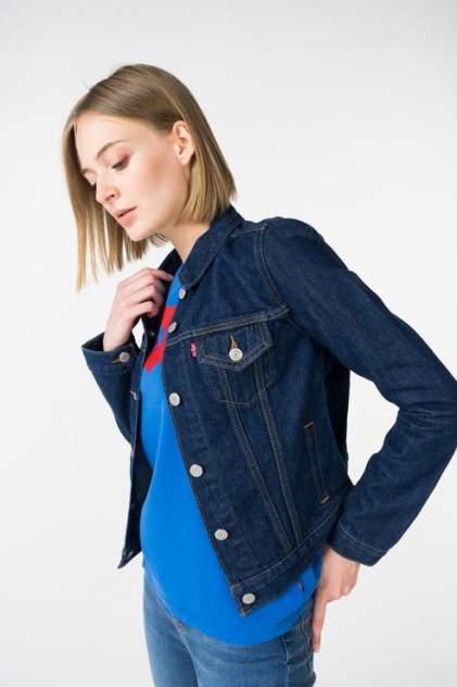 Джинсовая куртка женская Levi's 2994500360 синяя 42
