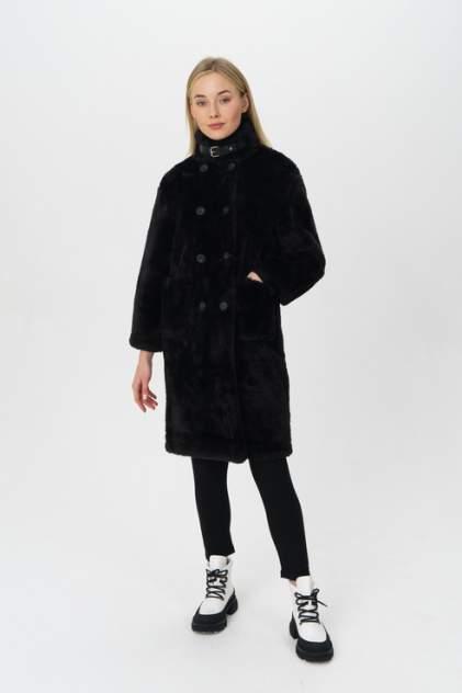 Шуба женская KZELL 8400 черная 46