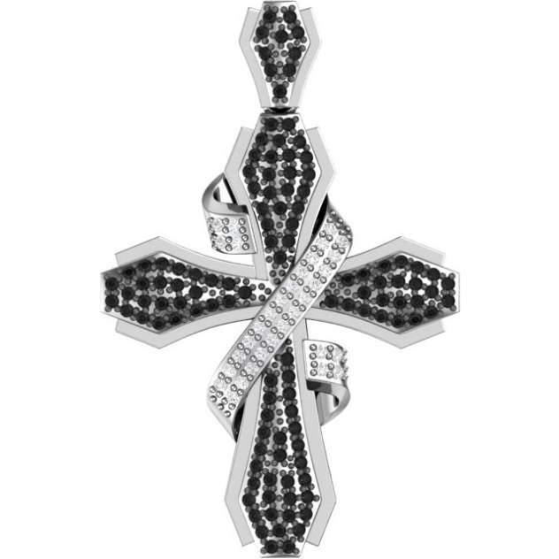 Подвеска женская POKROVSKY 0800231-00215 из серебра, фианит