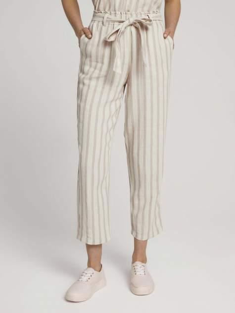 Женские брюки TOM TAILOR 1025742, коричневый