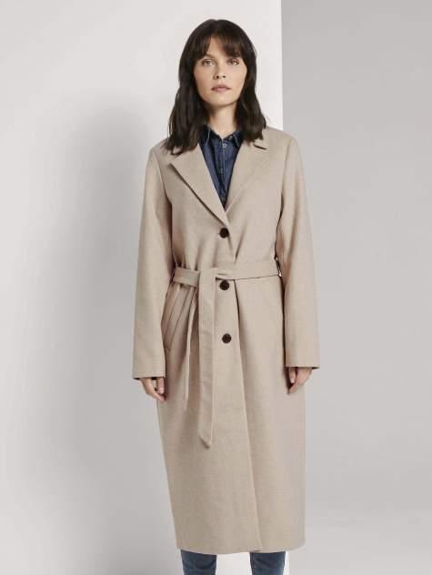 Женское пальто TOM TAILOR 1021328, коричневый