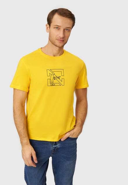 Футболка Modis M212M00079P570M07, желтый