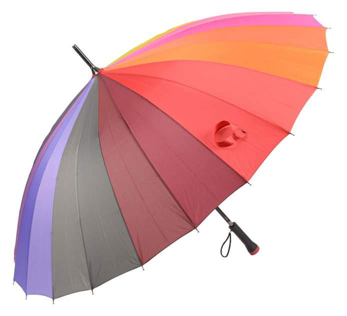 Зонт женский frei Regen 2040-FAL красный
