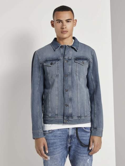 Мужская джинсовая куртка TOM TAILOR 1020236, синий