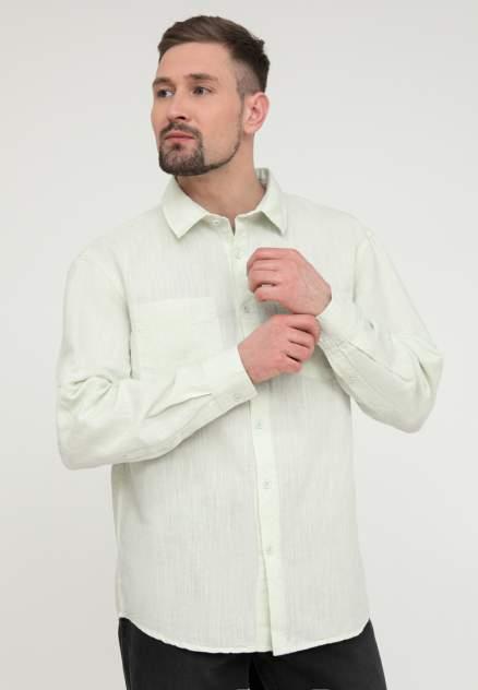 Рубашка мужская Finn Flare S20-22053, зеленый