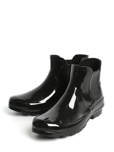 Резиновые сапоги женские Street Player BSZ 18-593 черные 39 RU
