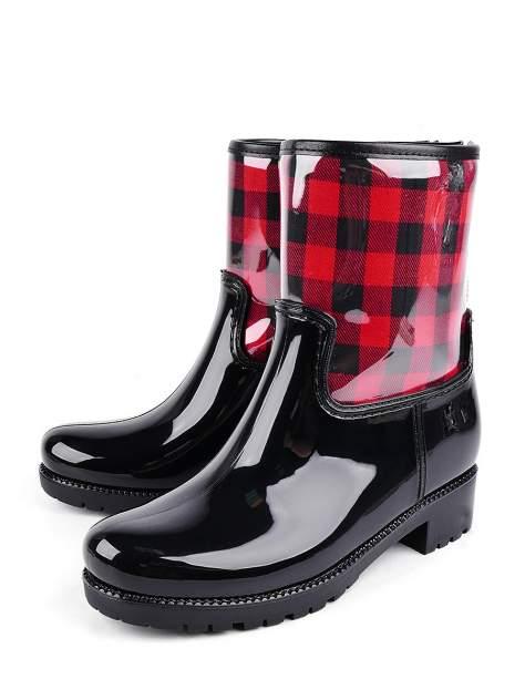 Резиновые сапоги женские TF 924982-8 черные 40 RU