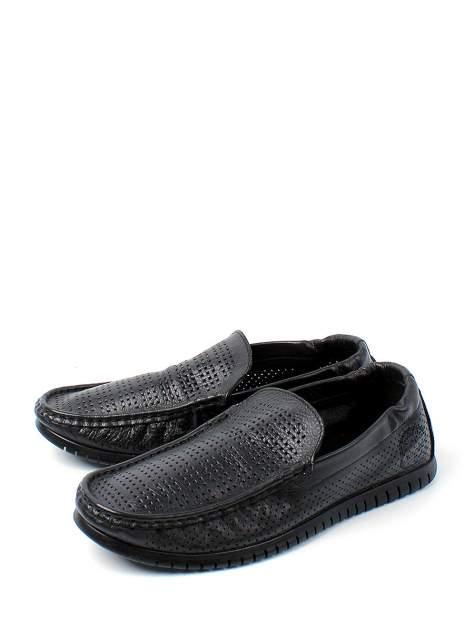 Мокасины мужские Longfield 902-120-C1L черные 41 RU