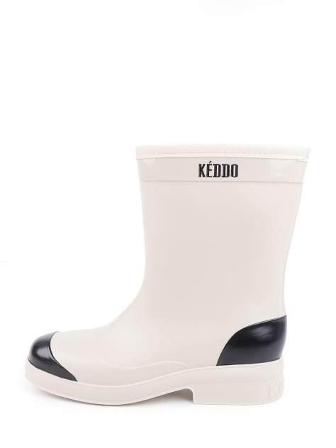 Резиновые сапоги женские Keddo 898271-01 бежевые 37 RU