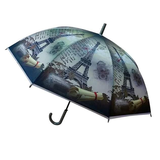 Зонт-трость унисекс полуавтоматический MultiDom MD-FX24-22 синий
