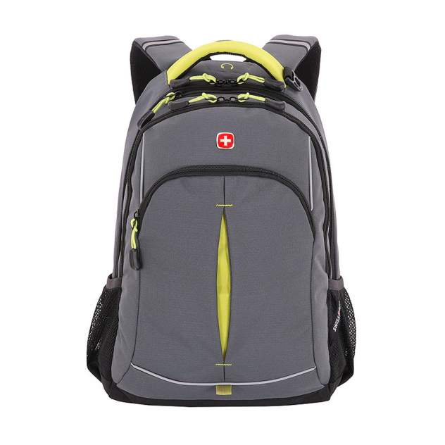 Рюкзак SwissGear SA 3165426408 серый/лаймовый 22 л