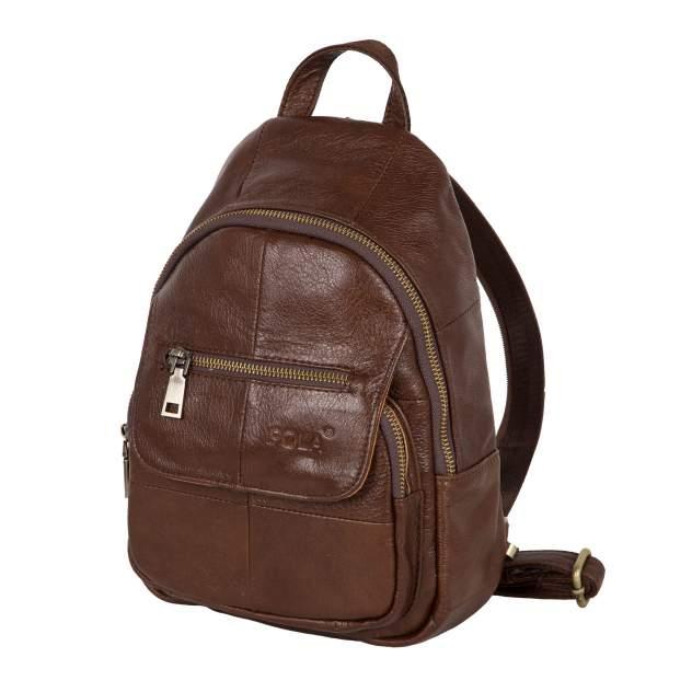 Сумка-рюкзак унисекс Polar 5009162-2 коричневый