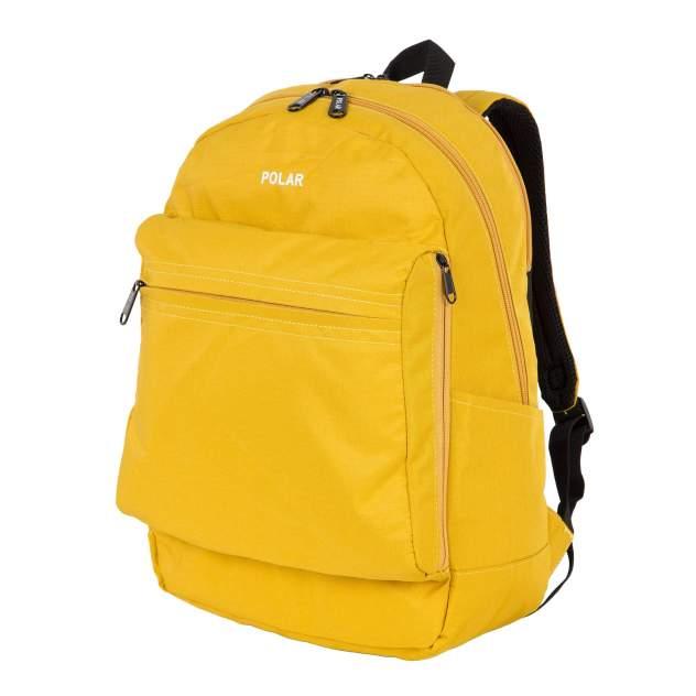 Рюкзак унисекс Polar 18220 желтый