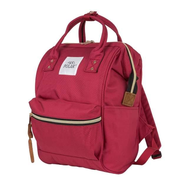 Рюкзак женский Polar 17197 бордовый