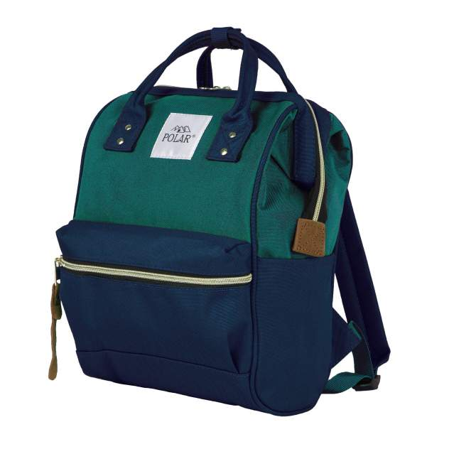 Рюкзак женский Polar 17198 зеленый