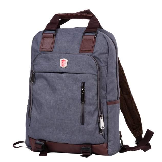 Рюкзак унисекс Polar 541-7 темно-серый