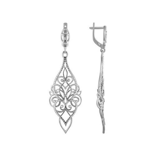Серьги женские из серебра SOKOLOV 94021123, без вставки