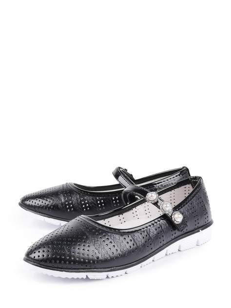 Туфли для девочек BERTEN A 104-73 цв. черный р.34
