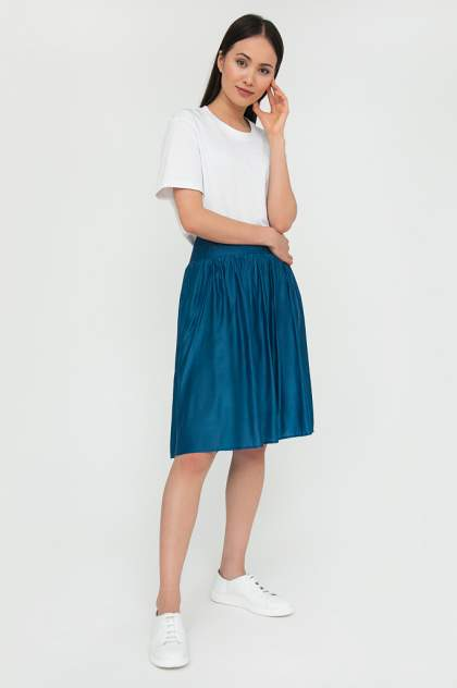 Юбка женская Finn Flare S20-110100 синяя L