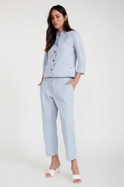 Женские брюки Finn Flare S20-11085, голубой