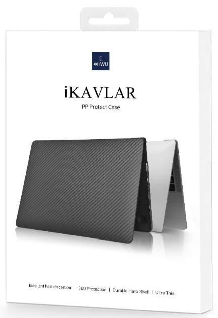 """Чехол Wiwu iKavlar для MacBook Air 13"""" 2018-2021 черный"""