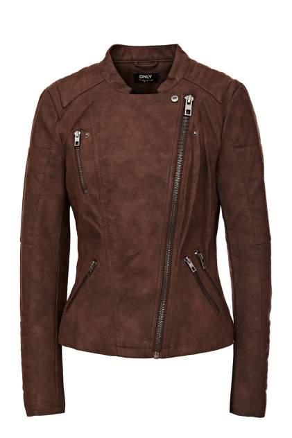 Куртка женская ONLY 15102997 коричневая 42 EU