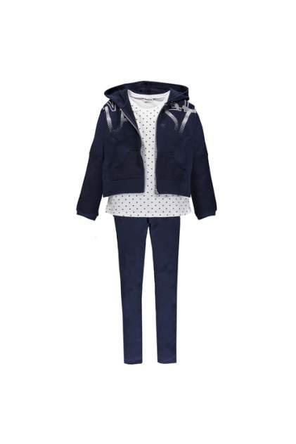 Спортивный костюм для девочки MEK, цв.синий, р-р 116