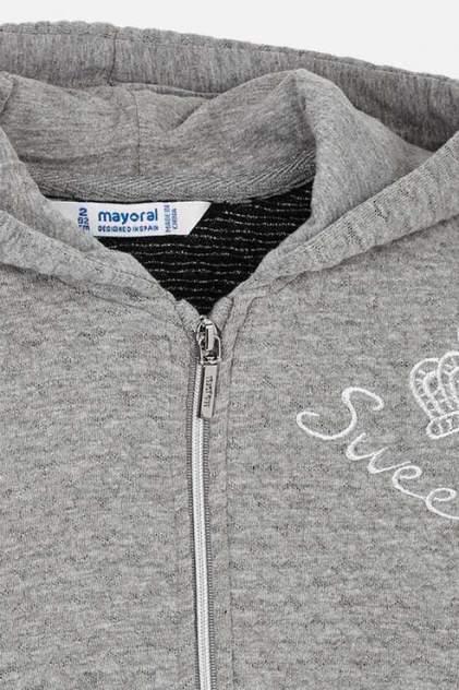 Спортивный костюм для девочки Mayoral, цв.серый, р-р 128